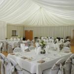 Wedding Marquee set up